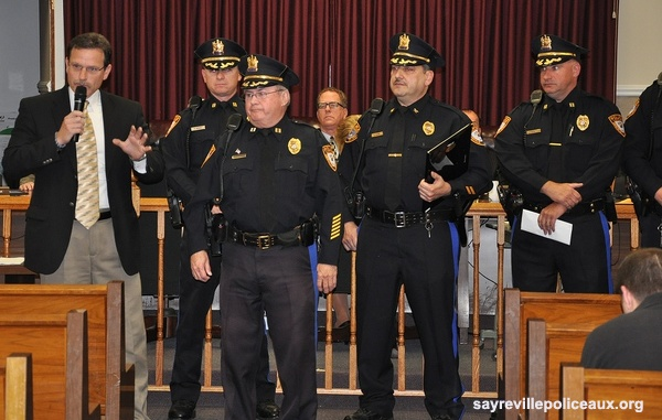 capt ted grossmann retirement 10 15 2013 sayreville auxiliary police photos. Black Bedroom Furniture Sets. Home Design Ideas